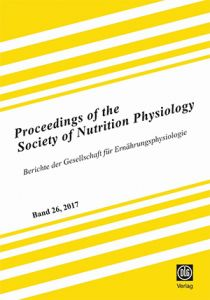 Proceedings of the Society of Nutrition Physiology Band 26