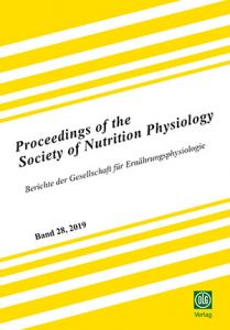 Proceedings of the Society of Nutrition Physiology Band 28