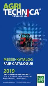 Ausstellungskatalog Agritechnica 2019