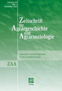 Zeitschrift für Agrargeschichte und Agrarsoziologie 2/2020