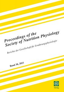 Proceedings of the Society of Nutrition Physiology Band 30